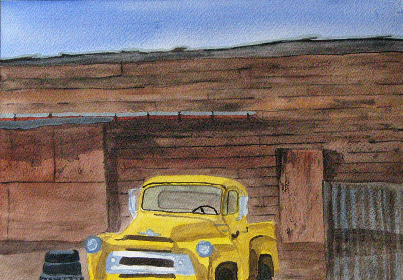 1413-S3-JunkerTruckWatercolor-Apr,09-WS