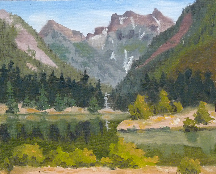 107-0264-GoldCreekPondPleinAir-Aug7,12